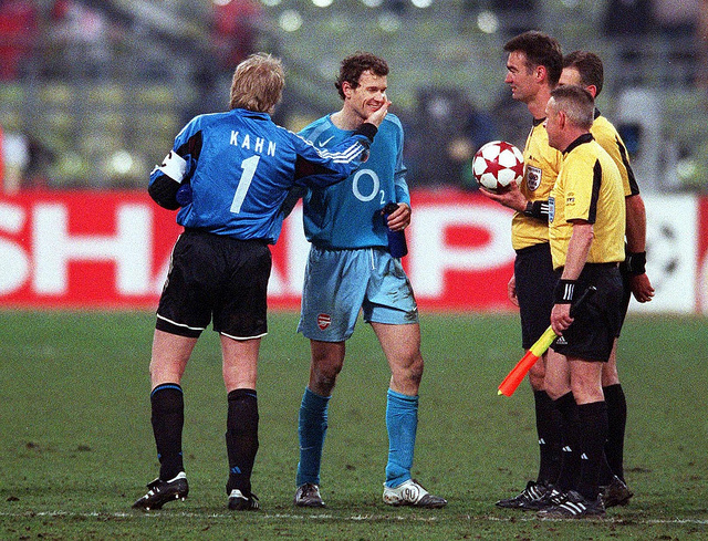 Classic Shot: Big defeat in Munich for Gunners, Kahn and Lehmann still friends
